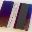 Iridescent purple plate