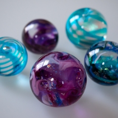 Swirls of paperweights!