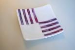 Purple streaky lines
