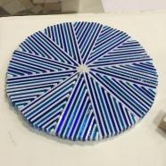 Blue & White Art Deco bowl