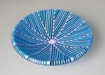 Blue Art Deco Bowl