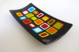 """14x7"""" black and bold squares"""