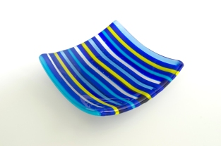 "5x5"" bold blue stripes"
