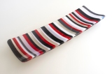 "4x14"" bold stripes in red"