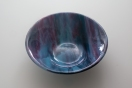 "10"" purple/blue swirl bowl"