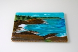 """5x8"""" cliff landscape"""