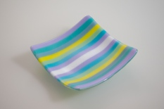 "7x7"" pastel stripes [SOLD]"