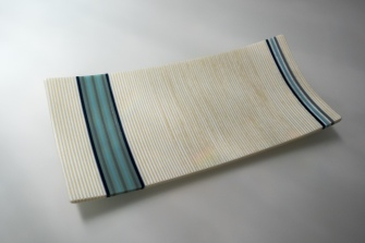 "14"" strip constructed platter"