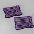 "3x4"" dishes of 2mm lines of purples"