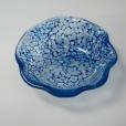 Transparent pebbles in Aventurine Blue