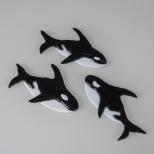 Orca ornaments
